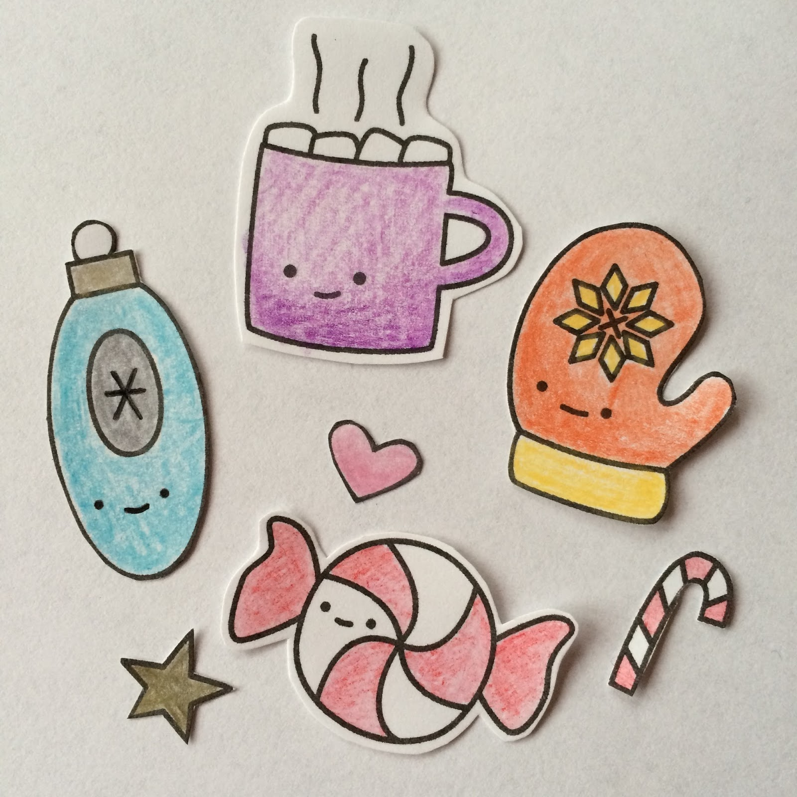 colouring sticker fun! / charm about you