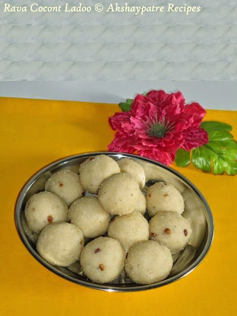 Store the rava coconut ladoo in an airtight container.