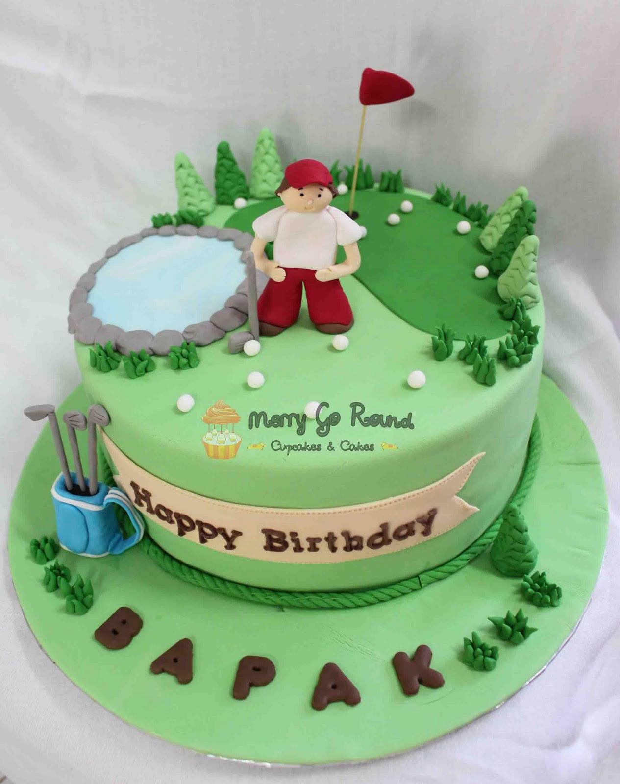 Birthday Cake Ideas Golf : Golf Birthday Cake Cake Ideas and Designs