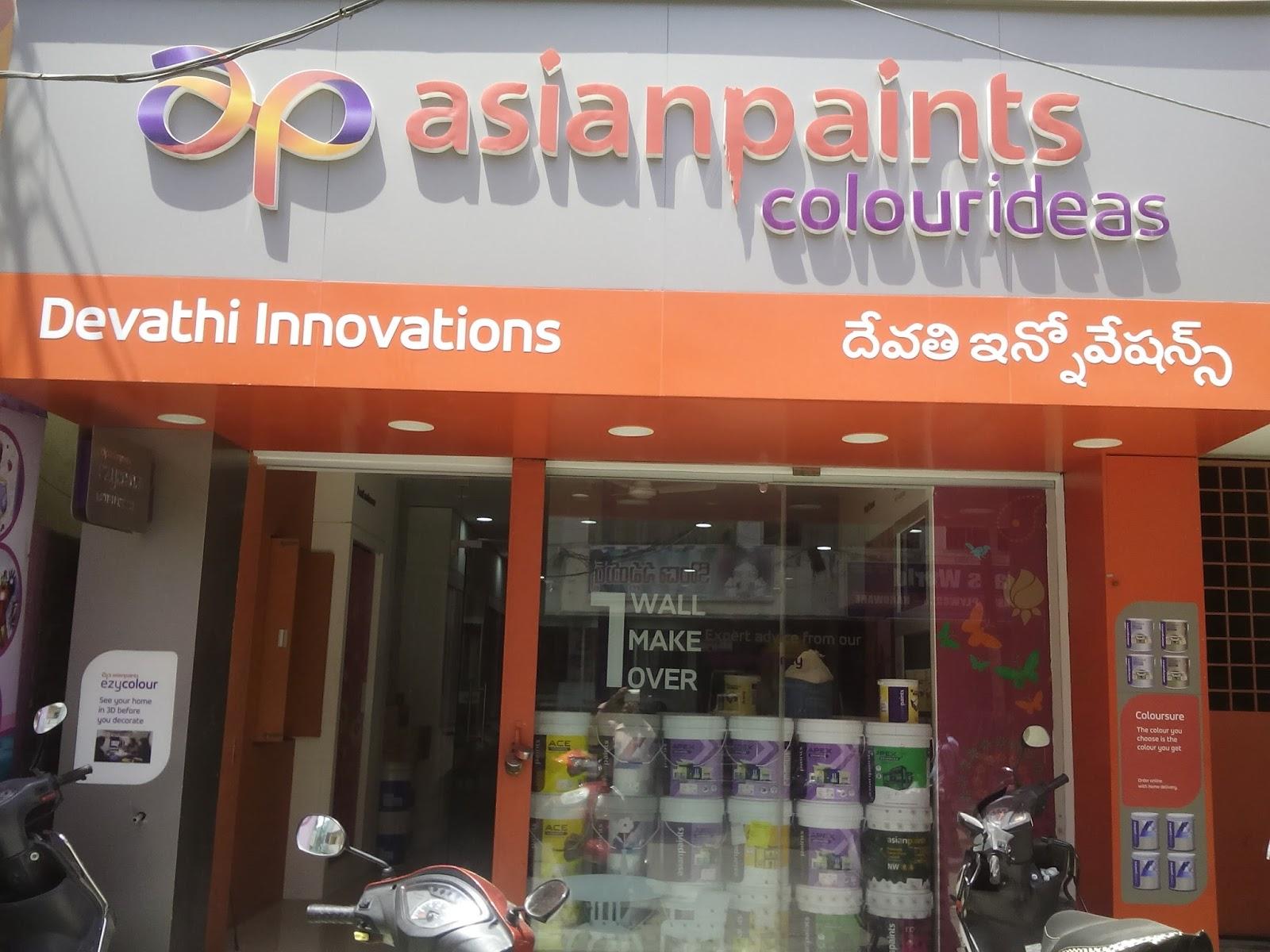 Asian Paints Idea Store