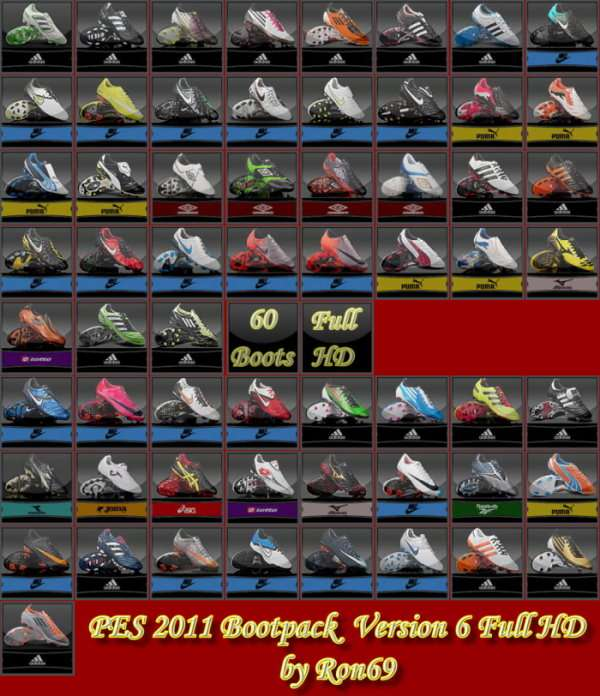 Pes 2011 bootpack full hd version 6 by ron69
