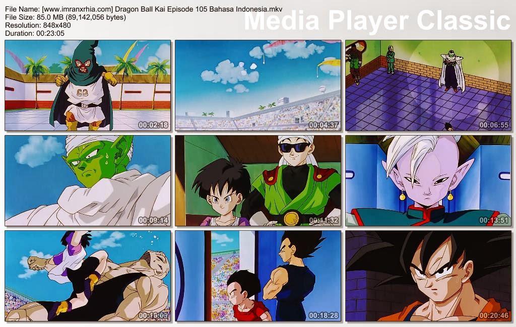 Download Film / Anime Dragon Ball Kai Episode 105 (Ada Apa Piccolo?! Akhir yang Mengejutkan dari Babak Pertama) Bahasa Indonesia