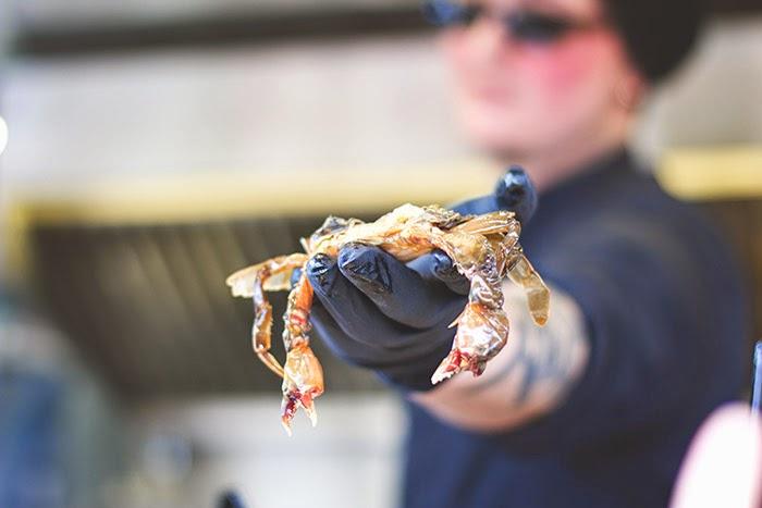 Soft Shell Crab von The Wurst Case Szenario beim Street Food Festival in Köln