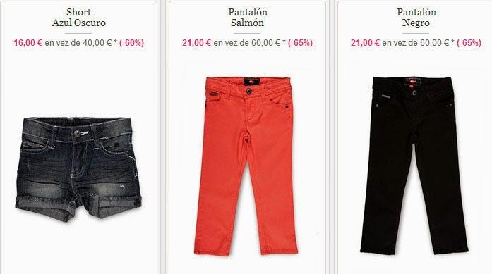 Pantalones y Shorts para niña