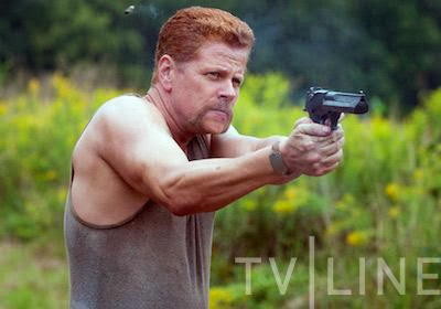 Michael Cudlitz como Abraham en The Walking Dead season 4