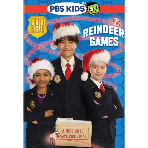 http://www.amazon.com/Odd-Squad-Reindeer-Games/dp/B0112HPSBU/ref=sr_1_1?s=movies-tv&ie=UTF8&qid=1448633059&sr=1-1&keywords=odd+squad+reindeer+games