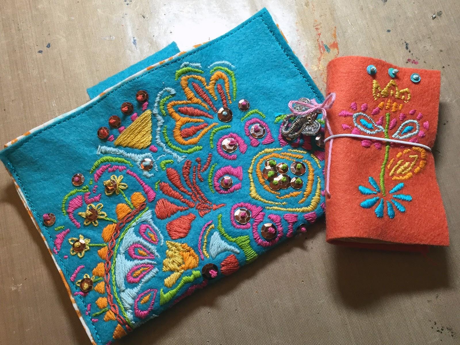 Stencilgirl Talk April Stencilclub Groovy Stitched Projects