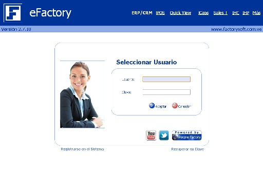 Sistema administrativo web, software administrativo web, sistema administrativo venezuela