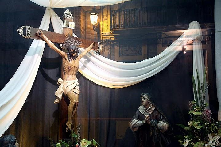 EL SANTISIMO CRISTO DEL BUEN ACIERTO.Titular de su Hermandad de Vestas.Cañamelar-Valencia.