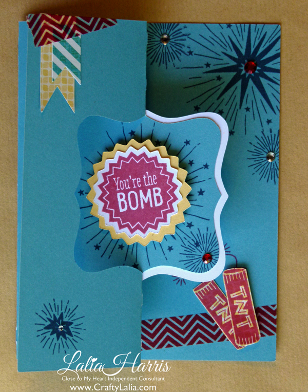 You're the Bomb Swing Card