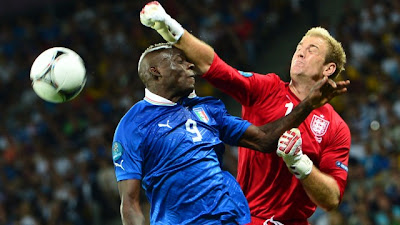 Hasil Akhir Skor Inggris vs Italia Euro 2012