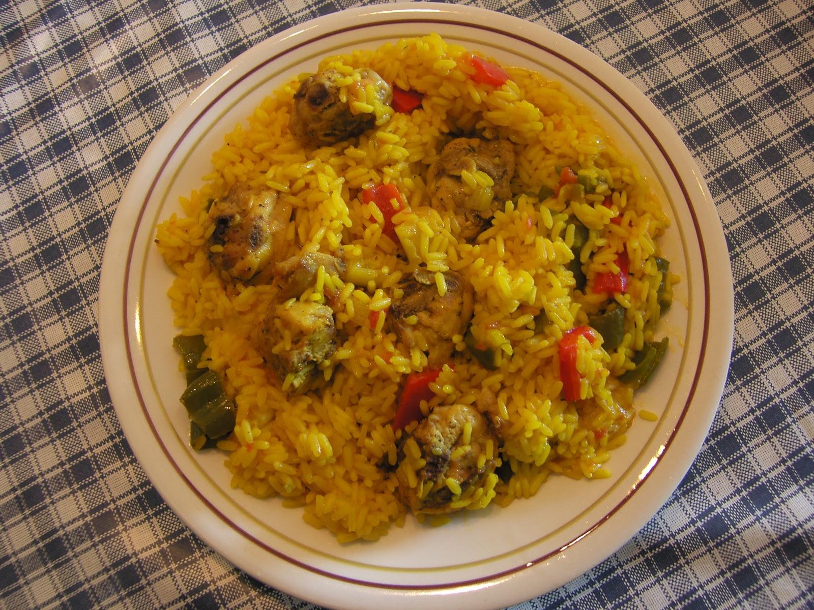 Arroz con conejo recetas de cocina - Cocina con sara paella ...