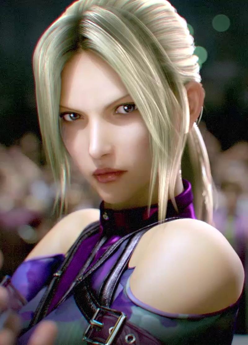 Tekken Nina CG Movie CGI