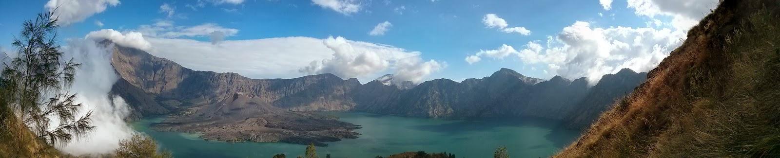 danau segara anak lombok how to get there