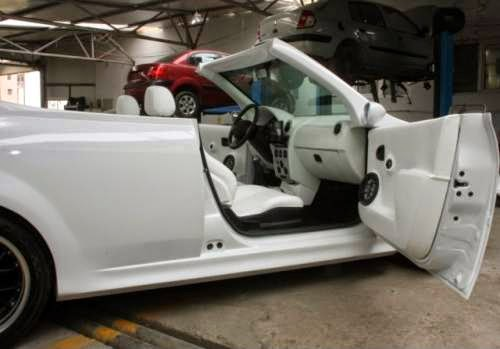 Dacia Logan Decapotabila - un interior care arata foarte bine