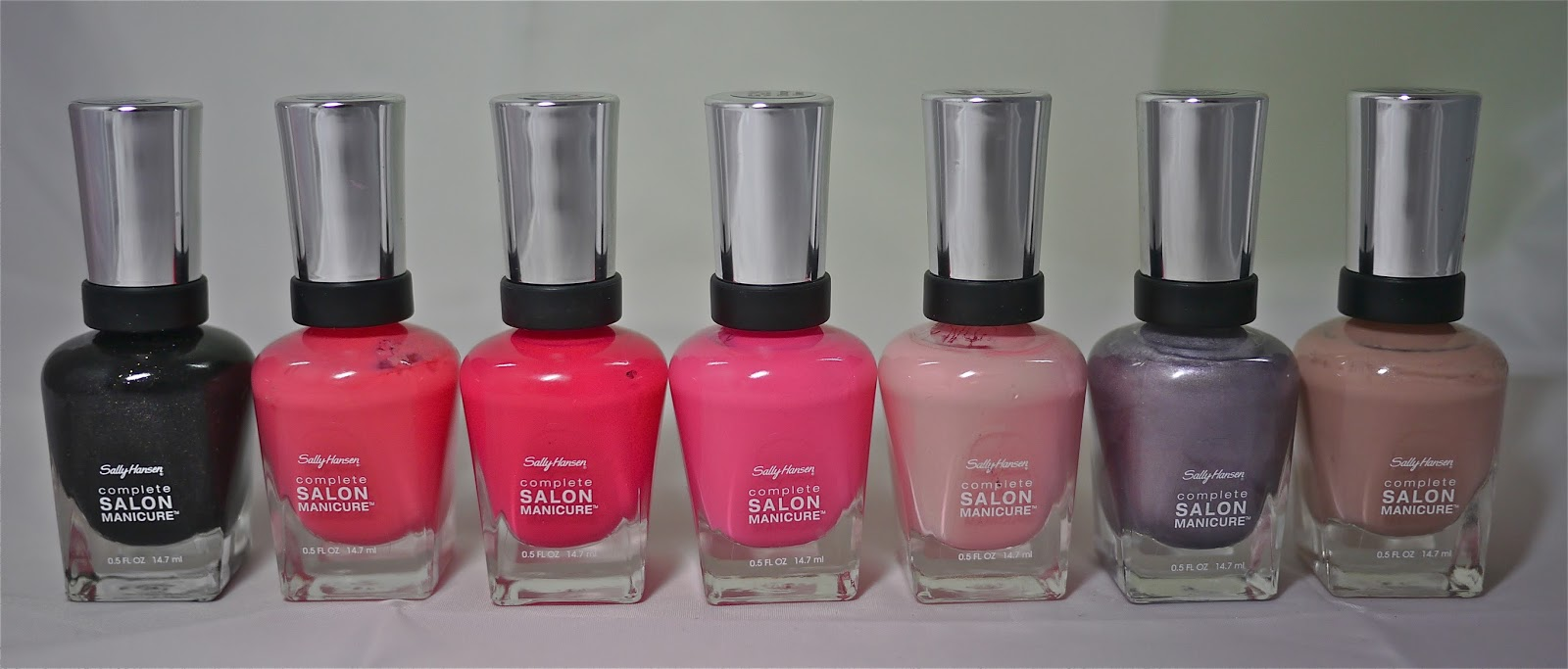 Sally Hansen Complete Salon Manicure Nail Polish Review