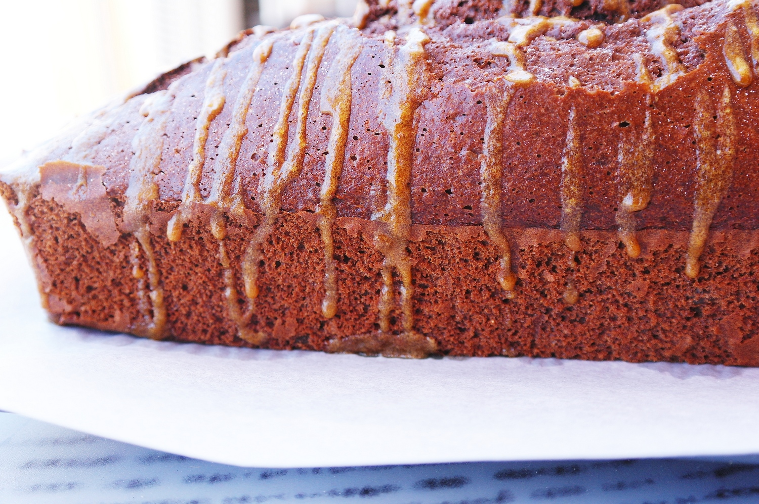 The cake is a lie cocoa banana cake drizzled with coffee icing well baking a banana cake seemed like pretty good idea i got my inspiration from a bbc goodfood website recipe but i adapted it to my taste and forumfinder Image collections