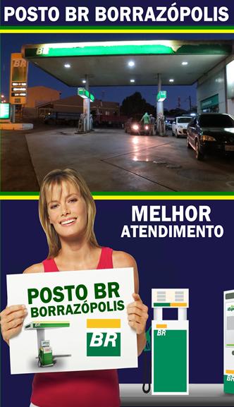 Posto BR Borrazópolis o Posto do Zequinha e do João