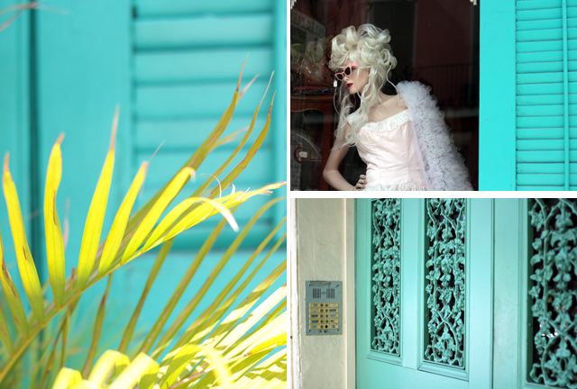 turquoise in new Orleans