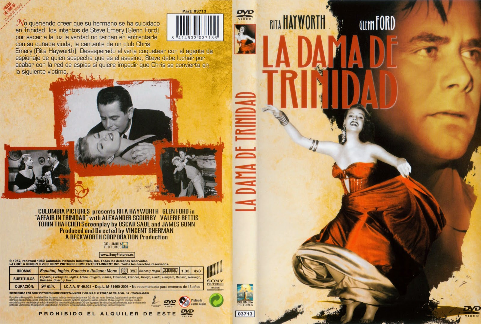 La dama de Trinidad (1952 - Affair in Trinidad)
