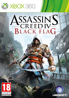 Xbox 360 Assassin's Creed IV: Black Flag Box Art