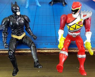 Bandai Power Rangers vs Sprukits comparison