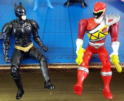 Bandai Power Rangers vs Sprukits comparison