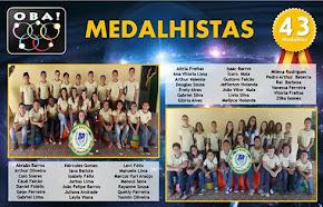 Medalhistas 2016 OBA