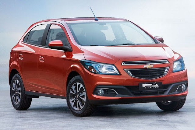 Front picture of Chevrolet Onix