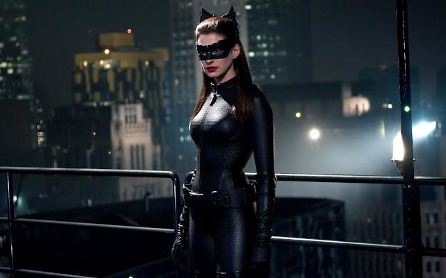 the Dark Knight rises - il Cavaliere Oscuro: il ritorno - Selina Kyle (Anne Hathaway) - la gatta ladra