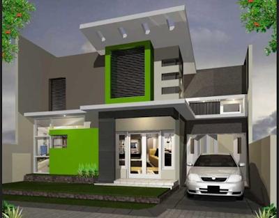 Model Variasi Rumah Tampak Depan