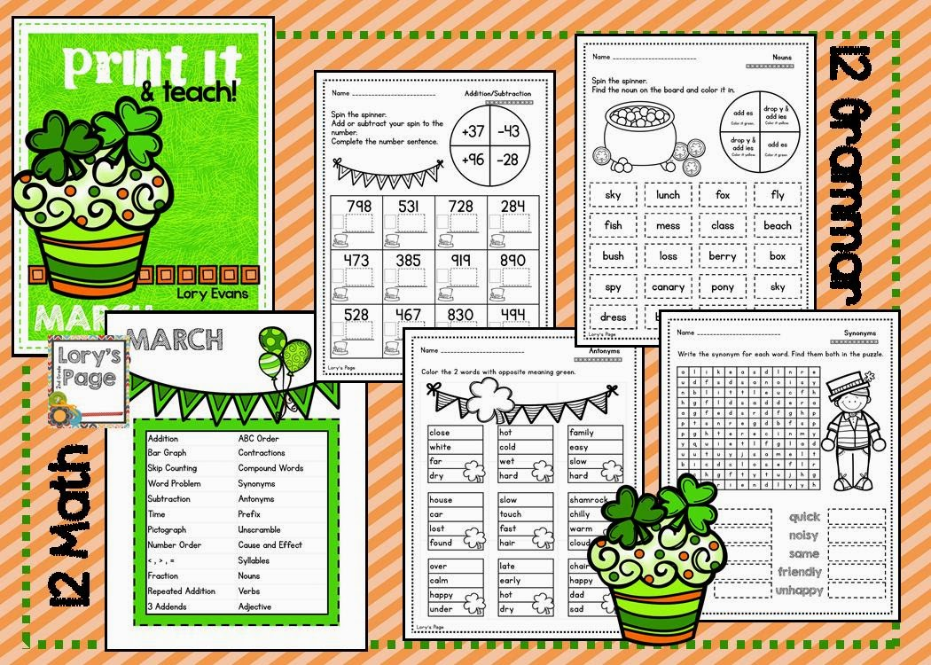 https://www.teacherspayteachers.com/Product/PRINT-it-Teach-MARCH-1138457