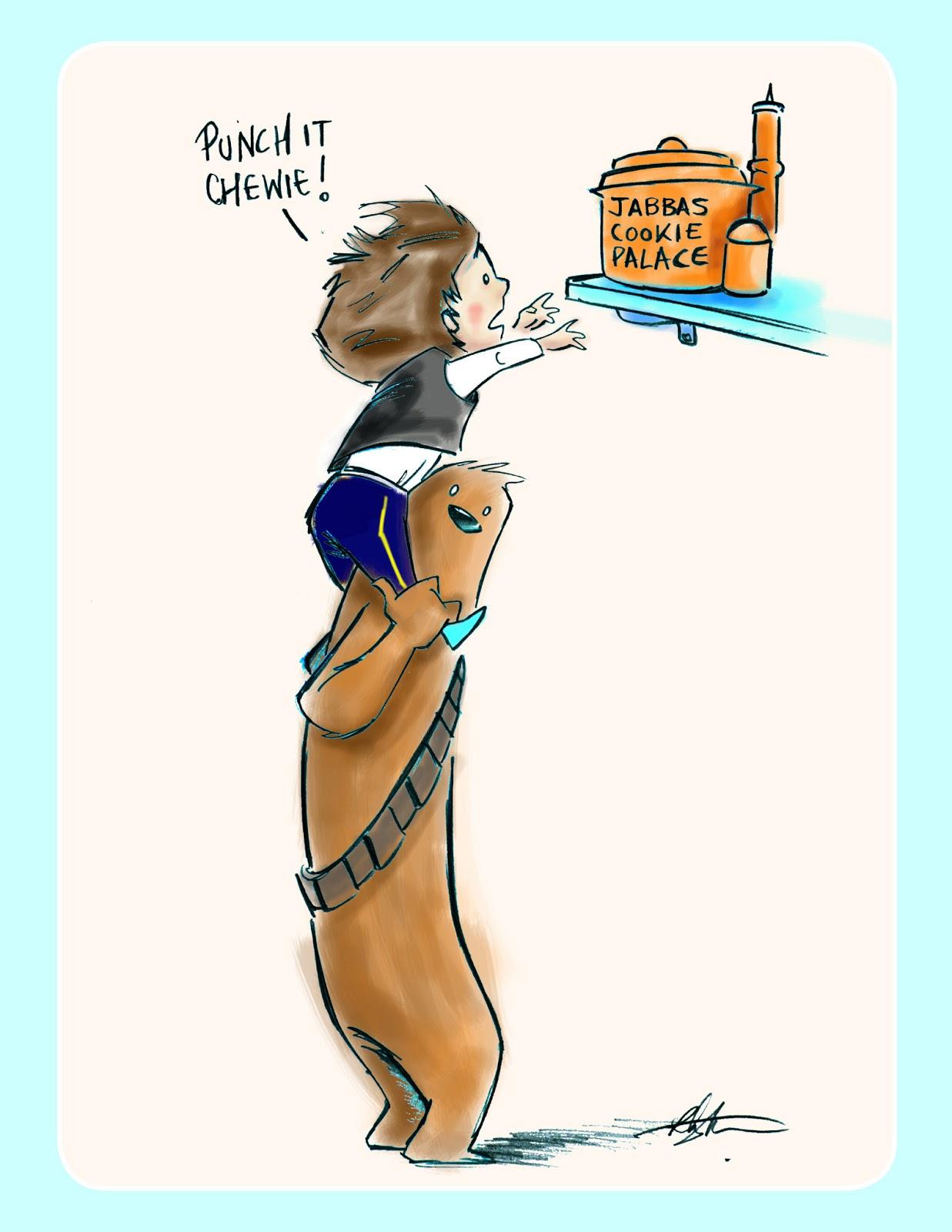 Chris's cartoons - Magazine cover