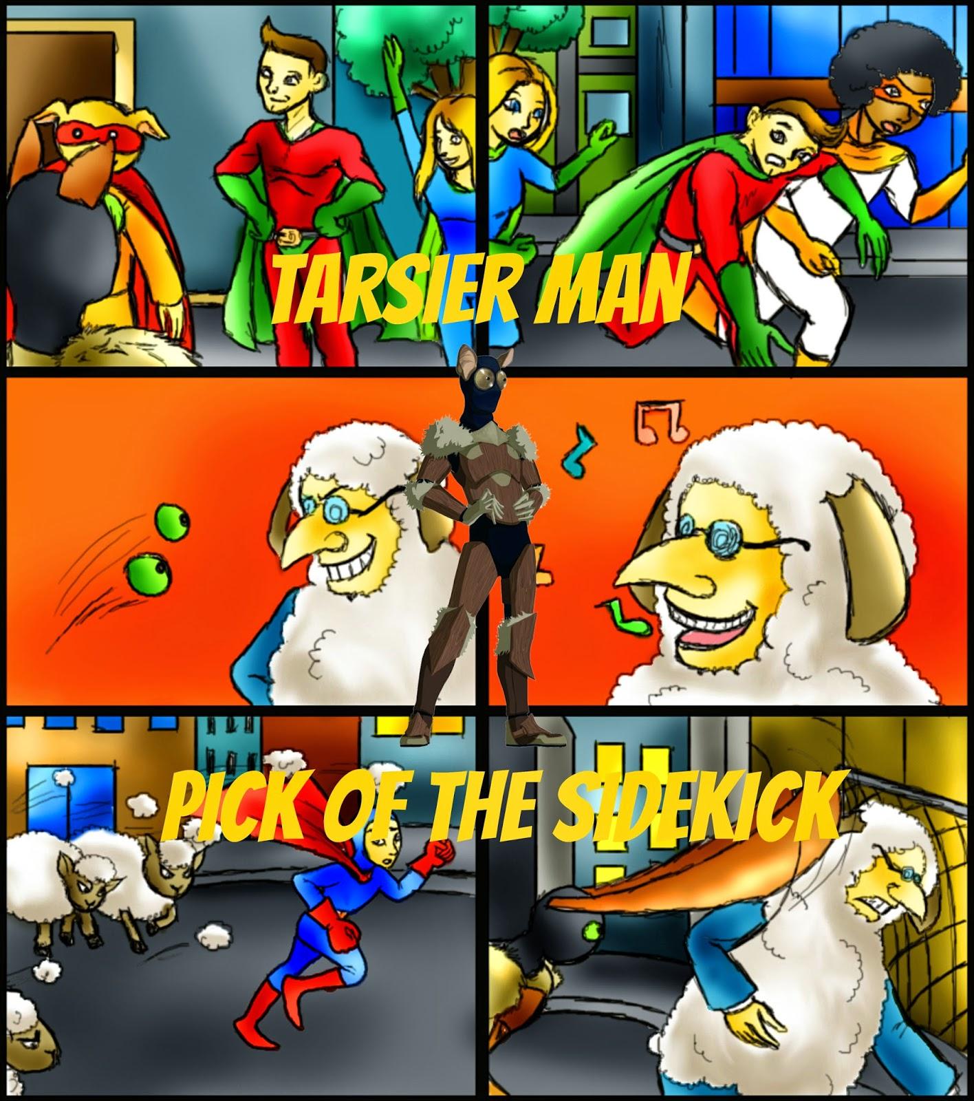 http://www.amazon.com/Tarsier-Man-Sidekick-Pat-Hatt-ebook/dp/B00UG8TCRS