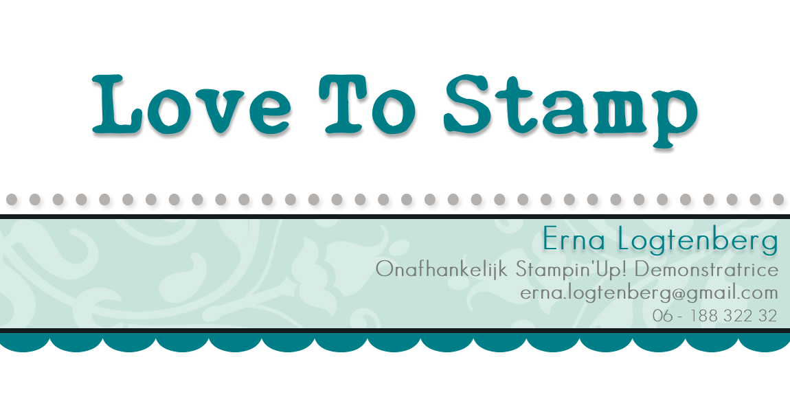 Stampin'Up! met Erna Logtenberg (Love To Stamp)