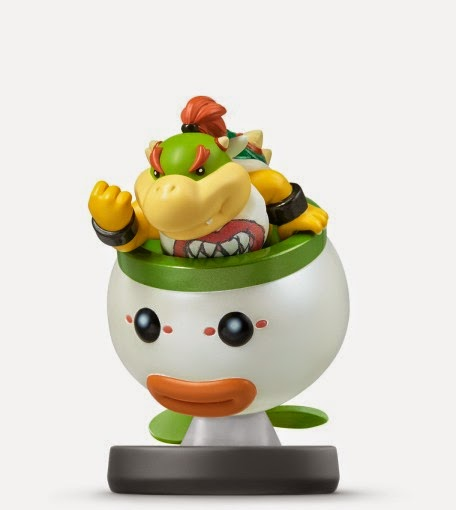 JUGUETES - NINTENDO Amiibo  43 : Figura Bowsy | Bowser jr.   (Julio 2015) | Videojuegos | Muñeco | Super Smash Bros Collection  Plataforma: Wii U & Nintendo 3DS