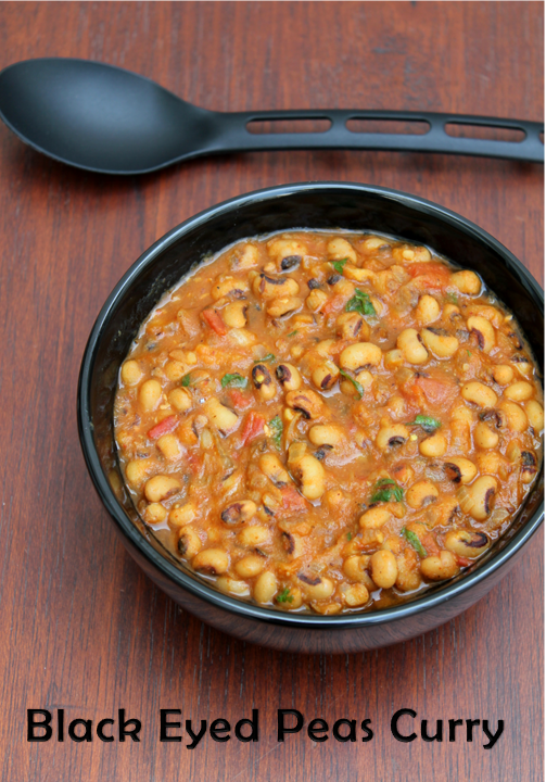 Jaya's recipes: Black Eyed Pea Masala/Lobia Curry