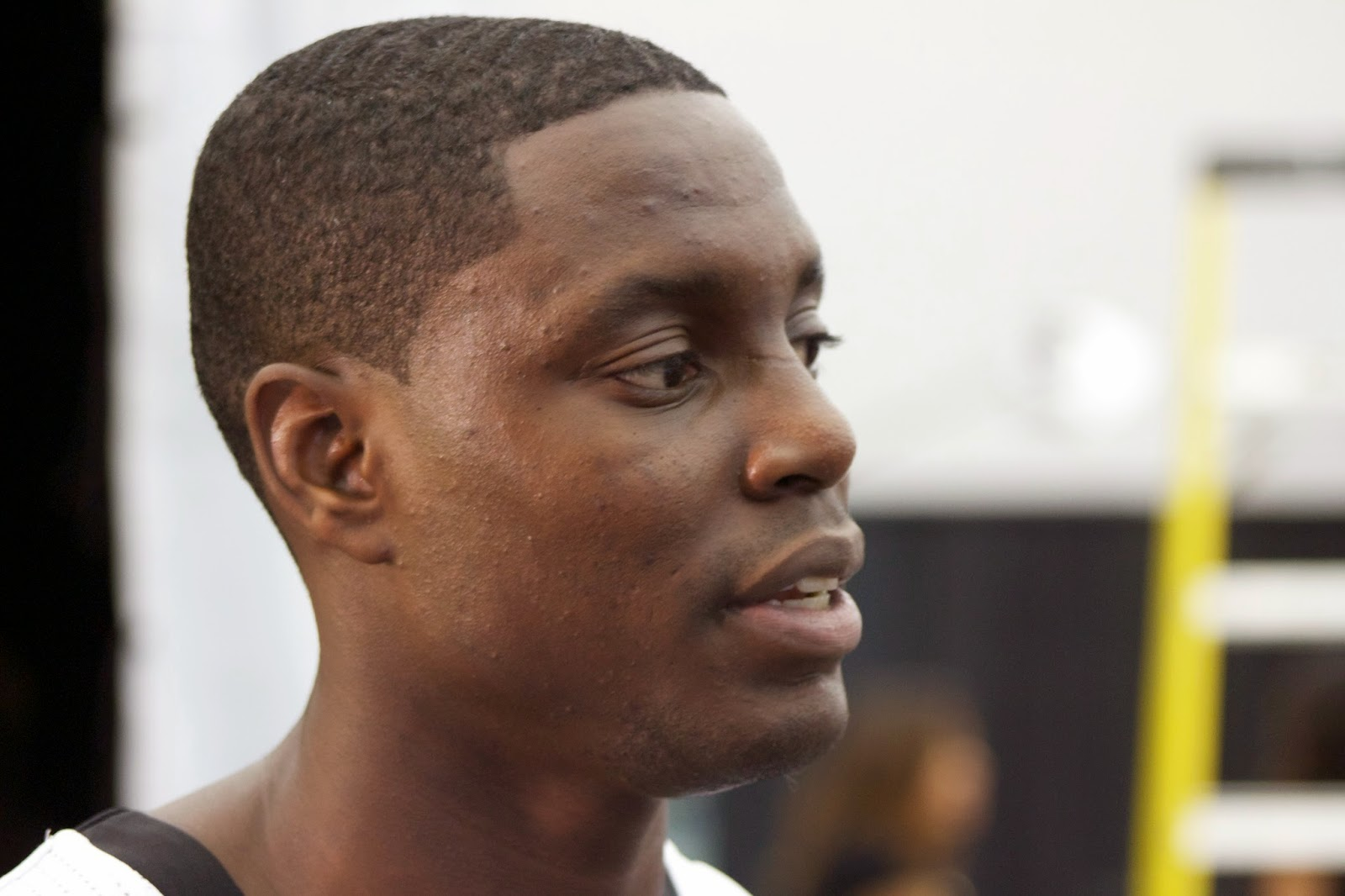 Darren Collison making his point, changing culture
