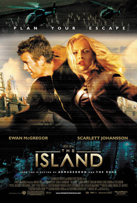 Watch The Island 2005 BRRip Hollywood Movie Online | The Island 2005 Hollywood Movie Poster