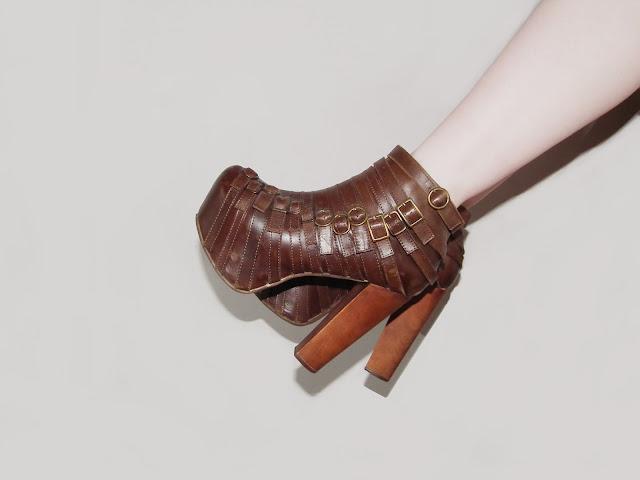 Sammi Jackson - Medusa / Jeffrey Campbell Wrecker boots