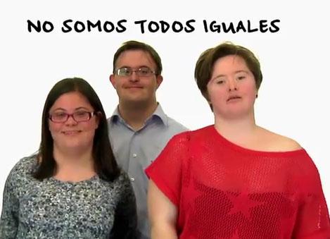 Síndrome de Down spot campaña Día Mundial del Síndrome de Down