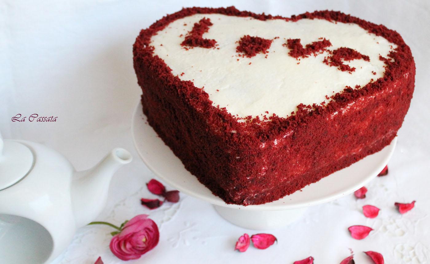 La Cassata: Romantic red velvet cake (senza glutine)