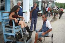 Orisel Gaspar, de paso por el centro de Cuba