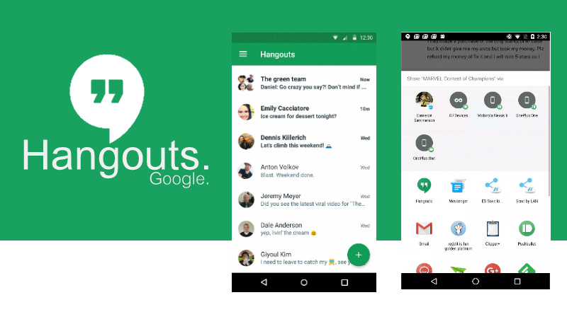 how to write cool on hangouts