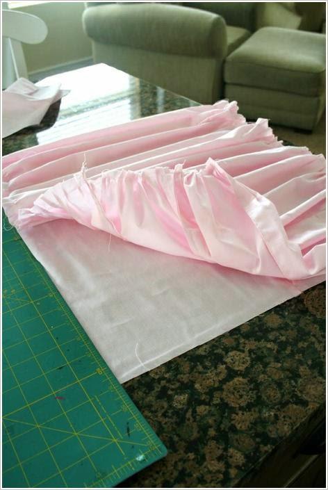 Подушка со складками
