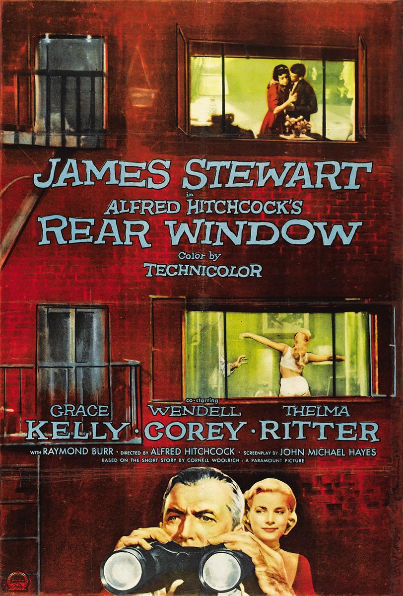 Cartel de la película La ventana indiscreta