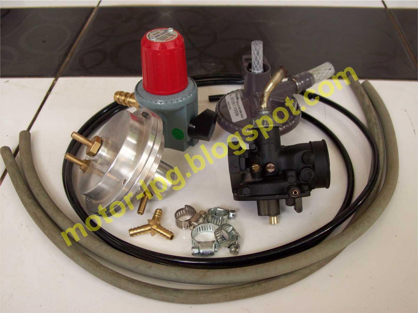 Gambar 1. Konverter Kit LPG untuk sepeda motor