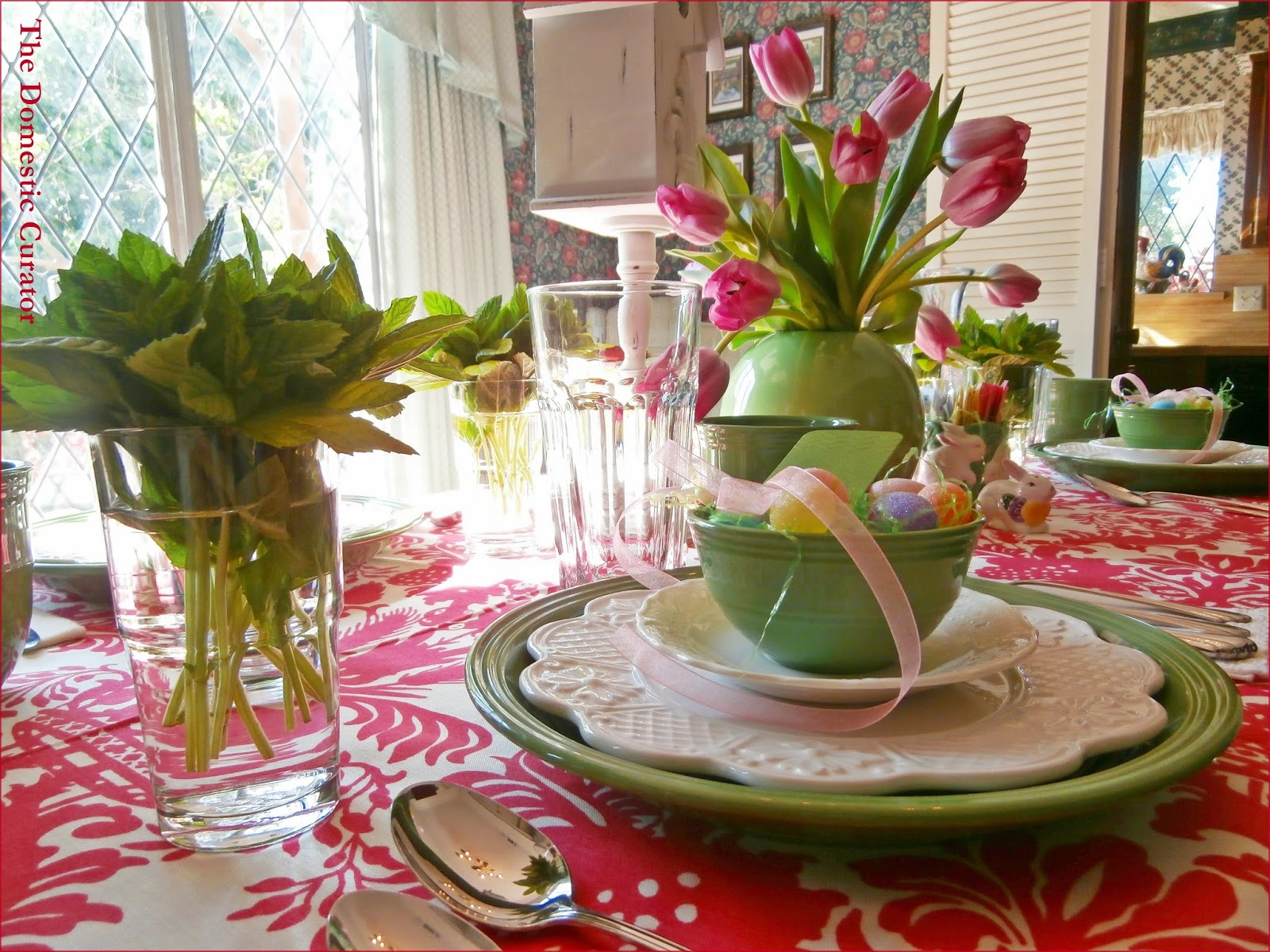 easter decorating ideas table setting - castrophotos
