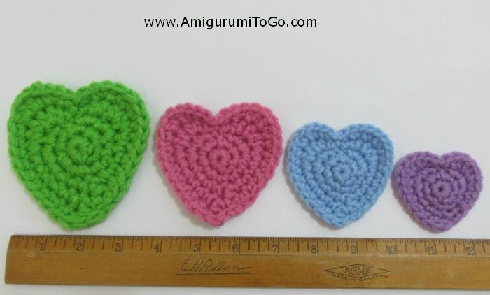 Amigurumi Freely To Go : Video Many Hearts One Pattern ~ Amigurumi To Go