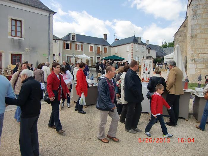 Le marché le dimanche après midi